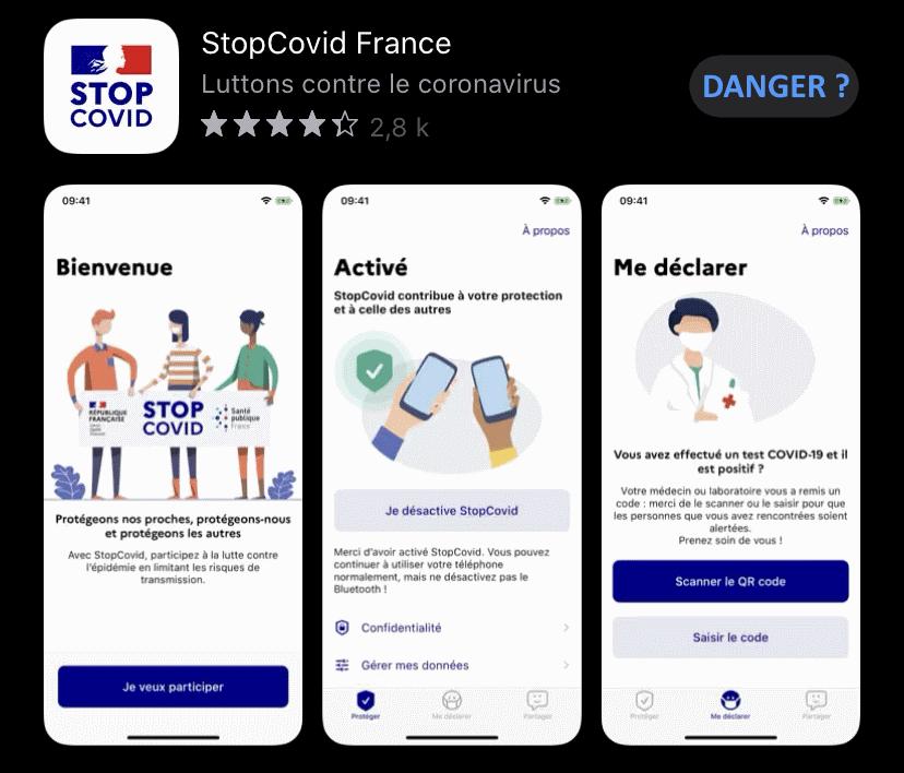 L'application StopCovid s'avère plus gourmande en données personnelles que prévu