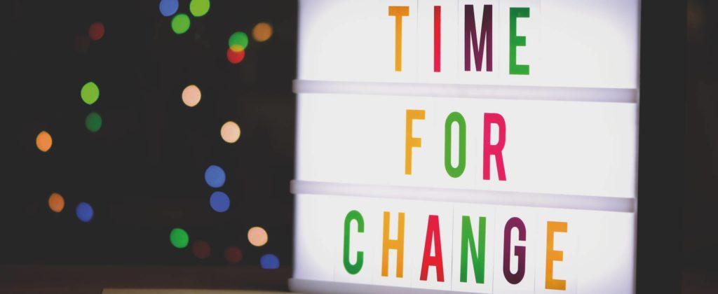 Mises en conformité RGPD- Time for change